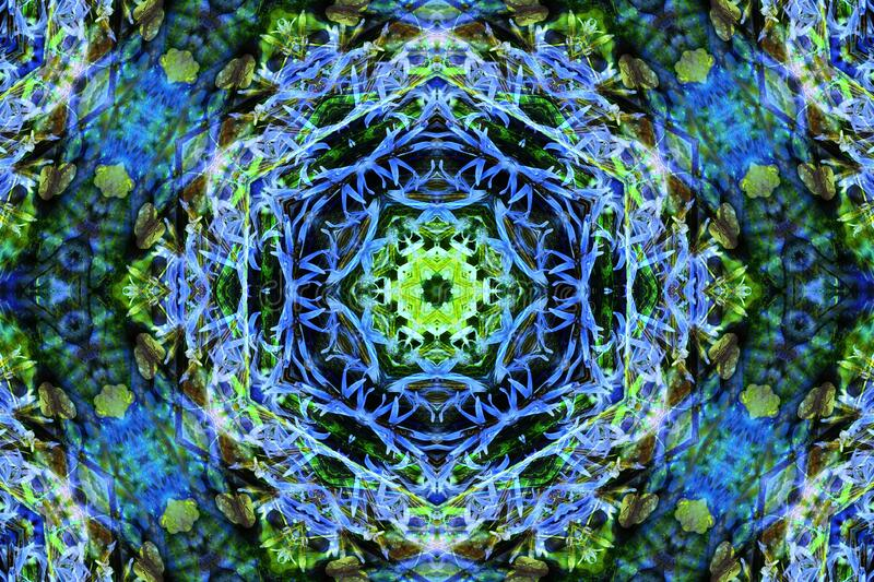 kaleidoscope design 14 stock photo