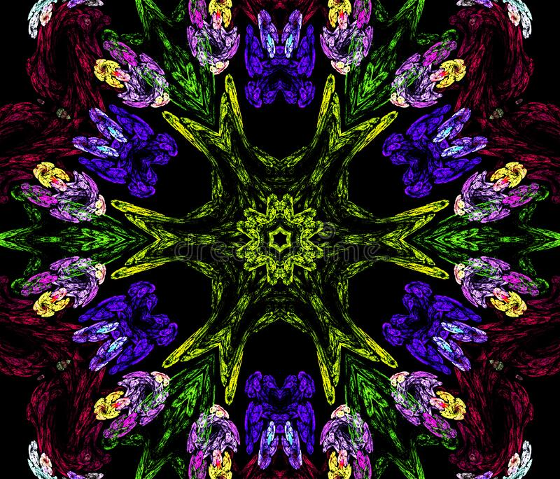 kaleidoscope design 19 royalty free stock photo