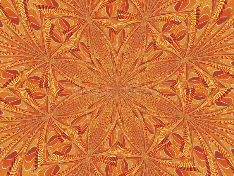 Kaleidoscope Of Flosses royalty free stock images