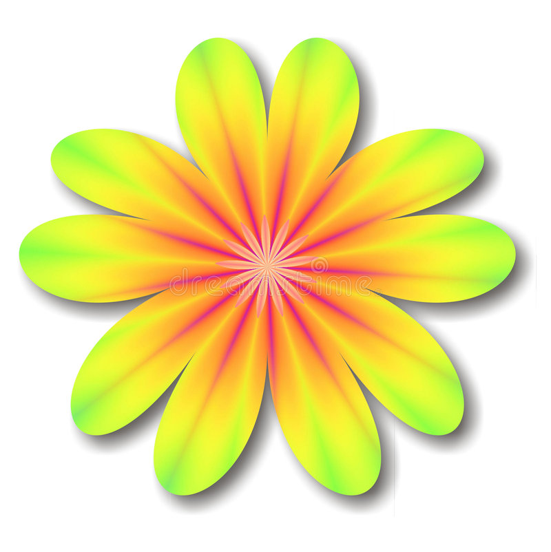 Download Kaleidoscope Flower stock illustration. Image of creative - 904426