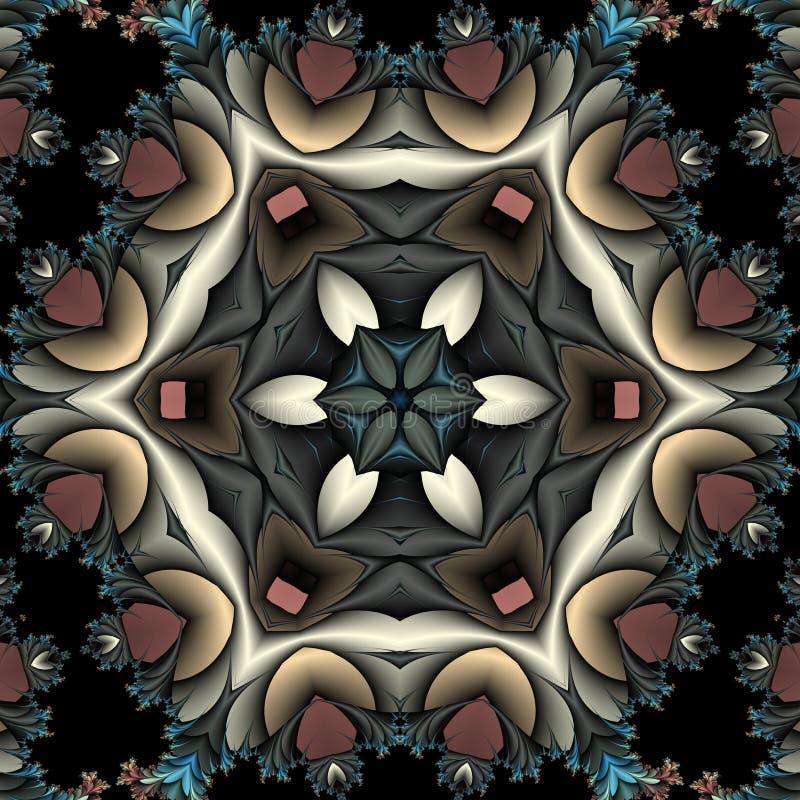 Kaleidoscope with fringe stock photography