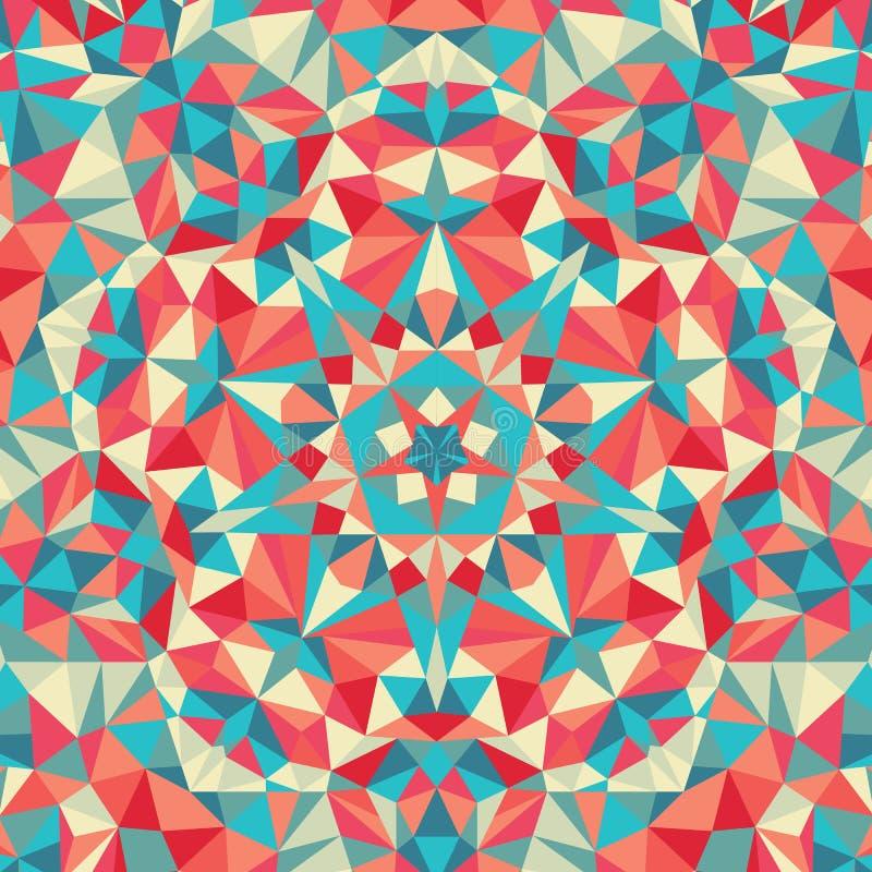 Free Kaleidoscope Geometric Colorful Pattern. Abstract Background Stock Image - 62986421