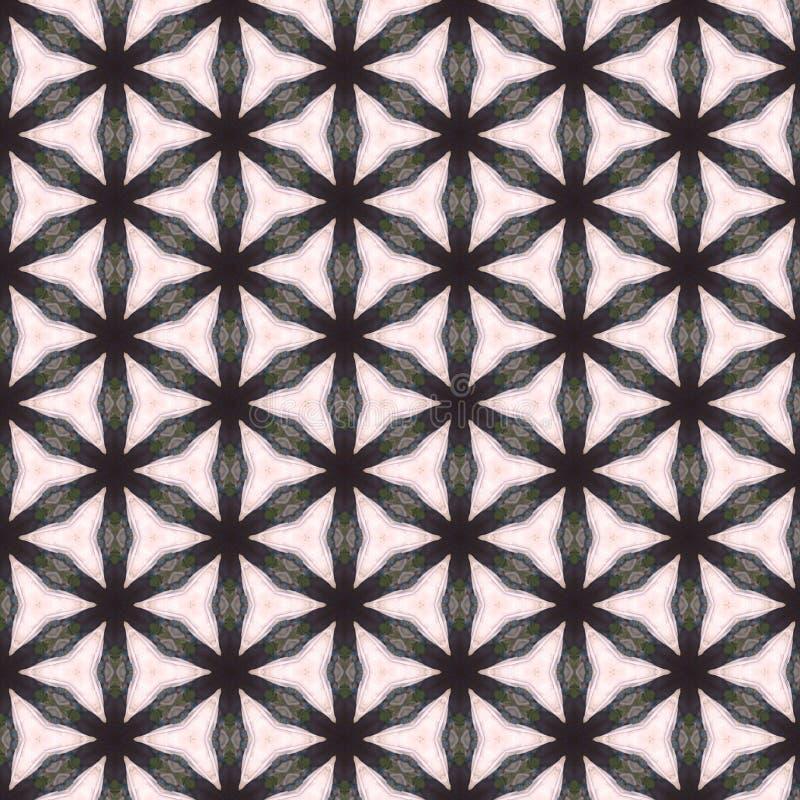 Kaleidoscope Pattern Background royalty free stock photography