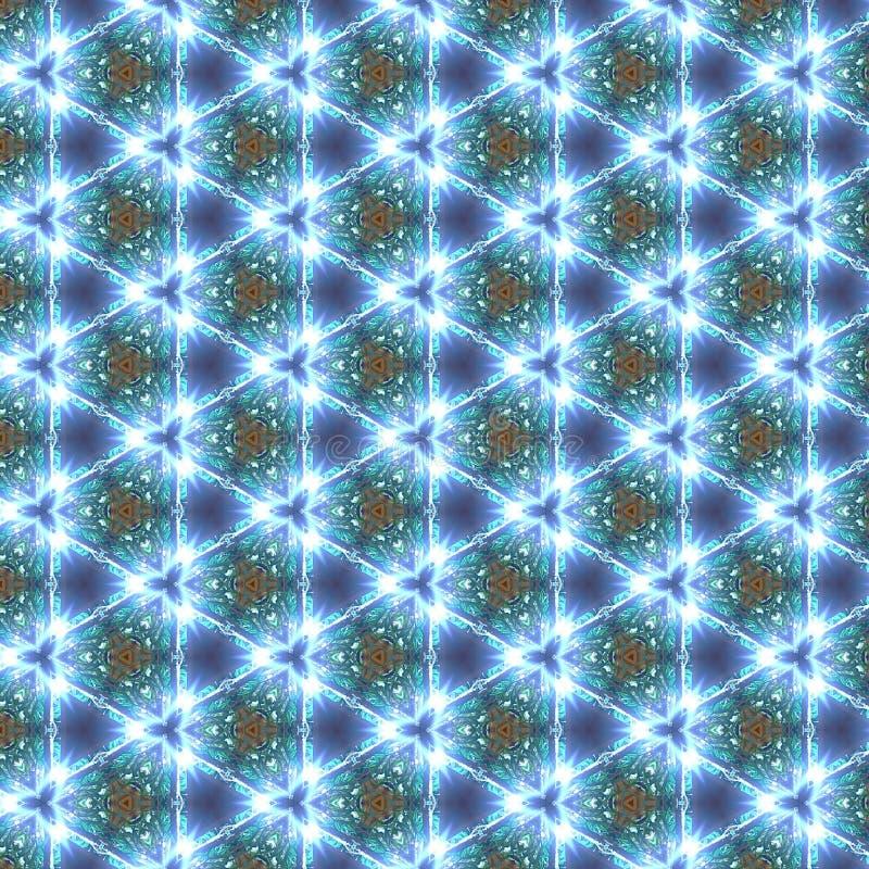 Kaleidoscope Pattern Background stock photos