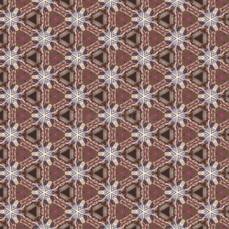 Kaleidoscope Pattern Background royalty free stock images