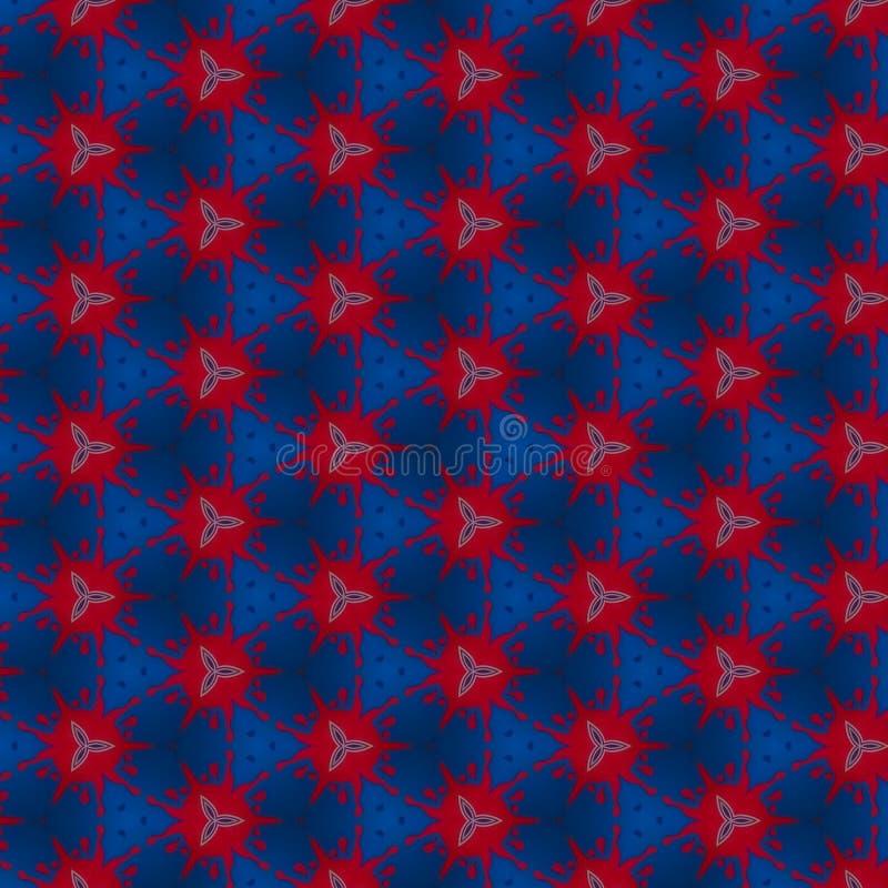 Kaleidoscope Pattern Background royalty free stock photos