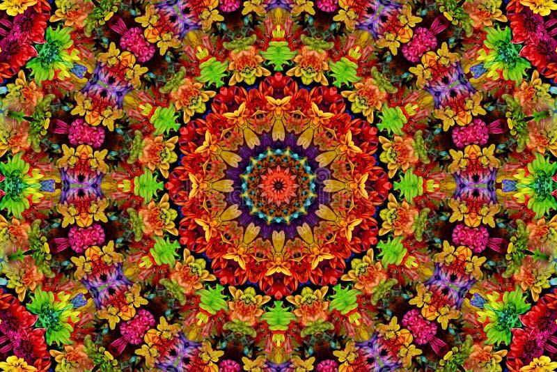 Kaleidoscope, Pattern, Flower, Symmetry royalty free stock photo