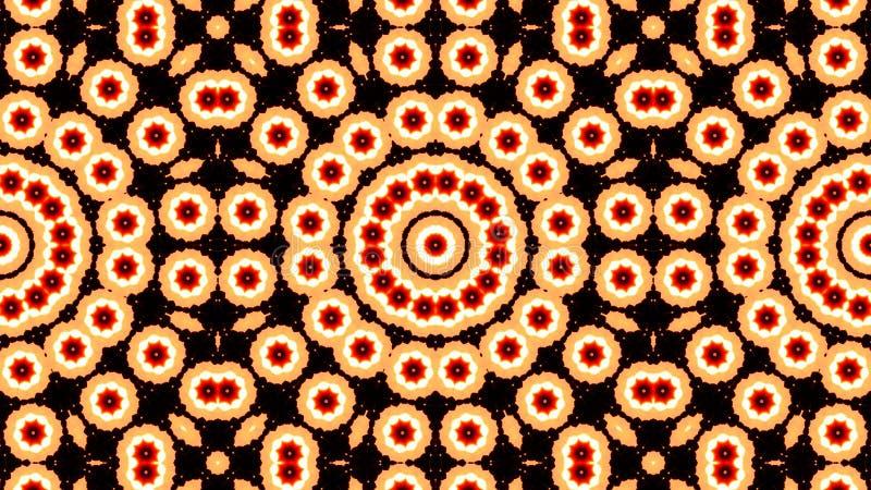 Kaleidoscope patterns abstract multicolored background.  stock illustration