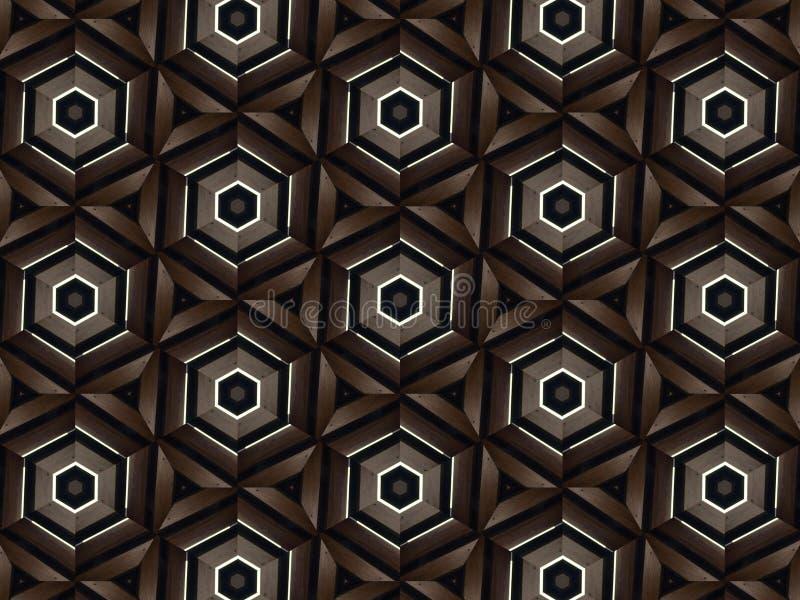 Kaleidoscope texture background stock images