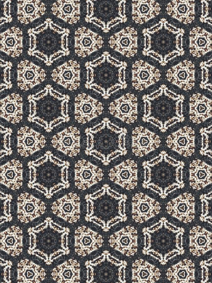 Kaleidoscope texture background stock photo