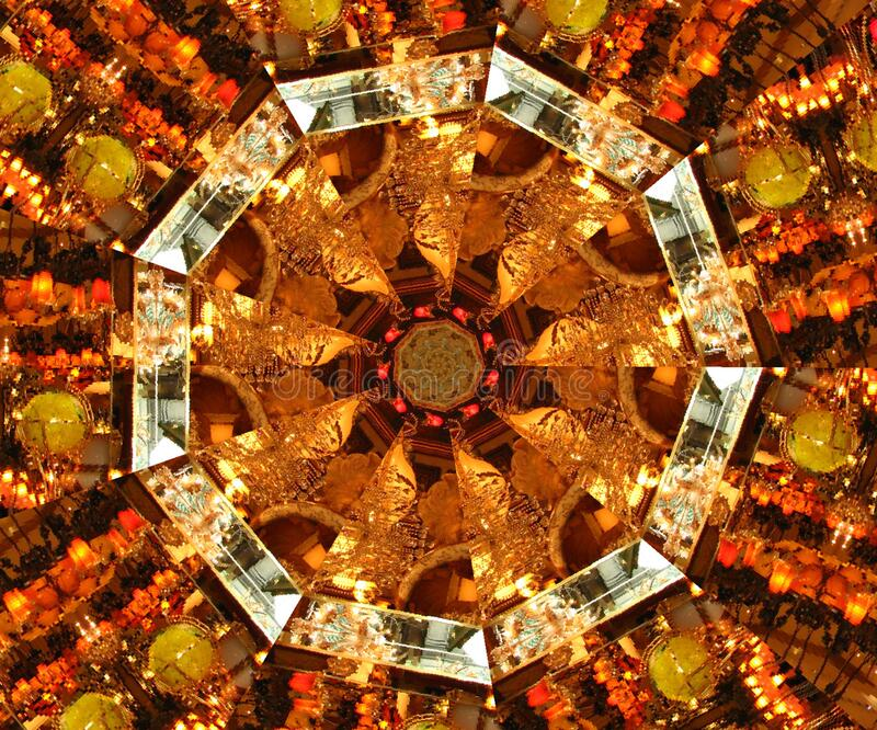kaleidoscope (55) royalty free stock image