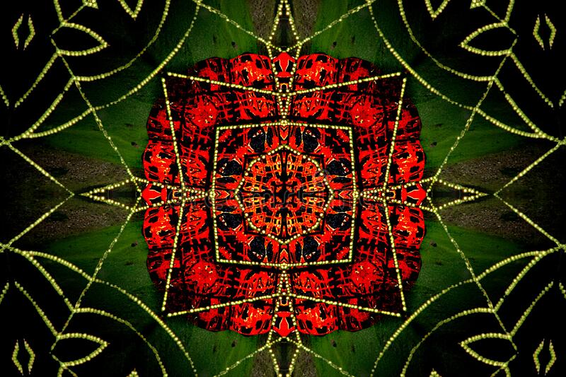 kaleidoscope (73) royalty free stock photo