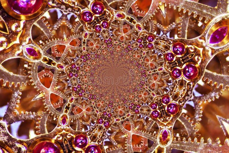 Kaleidoscopic μηχανισμός στοκ φωτογραφία με δικαίωμα ελεύθερης χρήσης