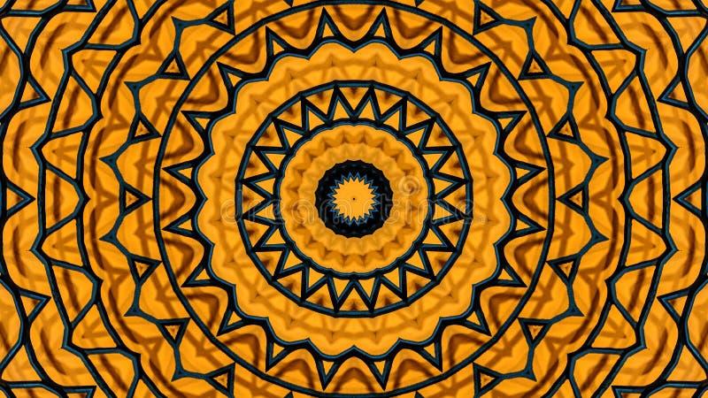 Kaleidoscopic иллюстрация решетки металла иллюстрация штока