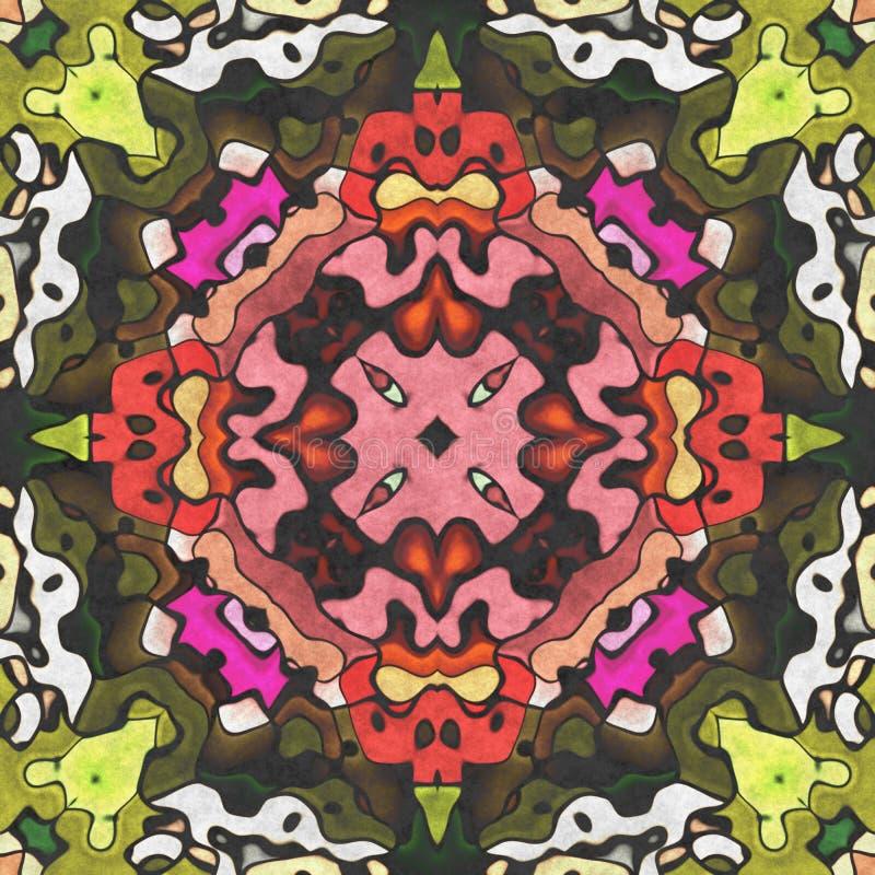 Kaleidoscopic art- geometry seamless ornate stock photos