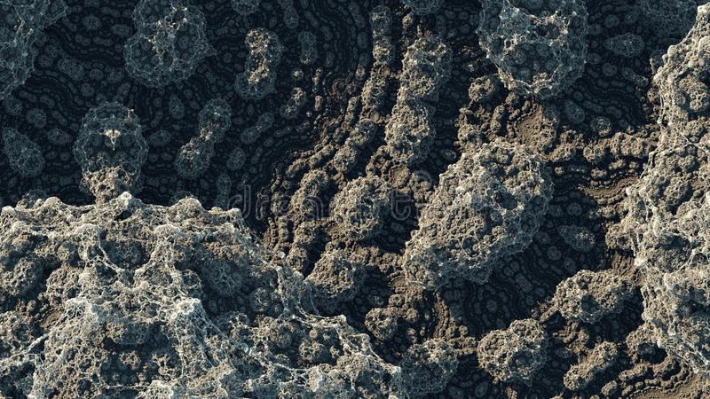 Kaleidoscopic IFS Fractal royalty free stock photography