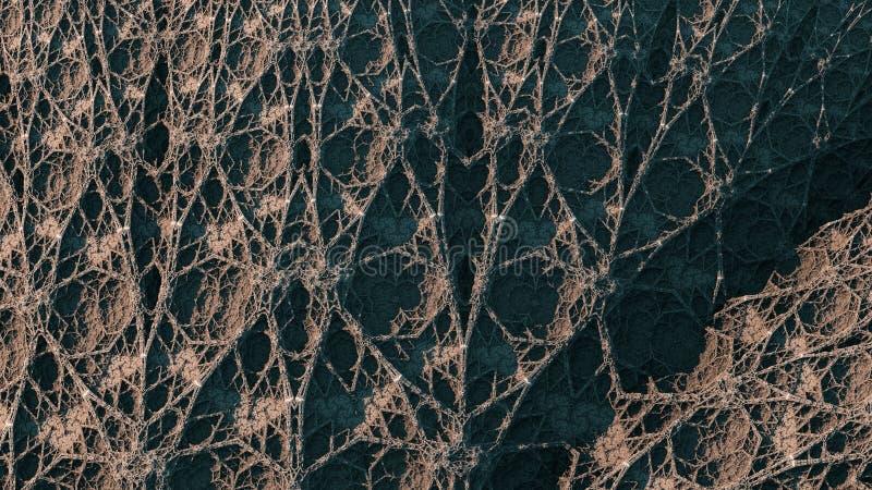 Kaleidoscopic IFS Fractal royalty free stock images