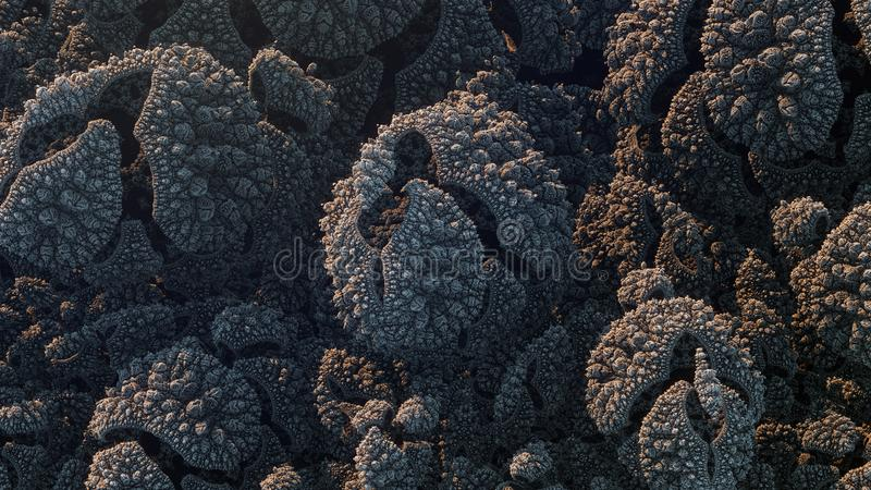 Kaleidoscopic IFS Fractal royalty free stock image