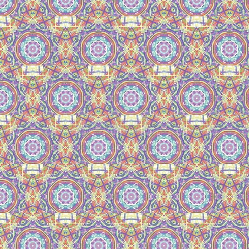 Kaleidoscopic moroccan seamless pattern royalty free stock photo