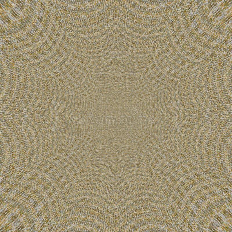 Kaleidoscopic ornamental pattern imitation textile linen rush mat stock photography