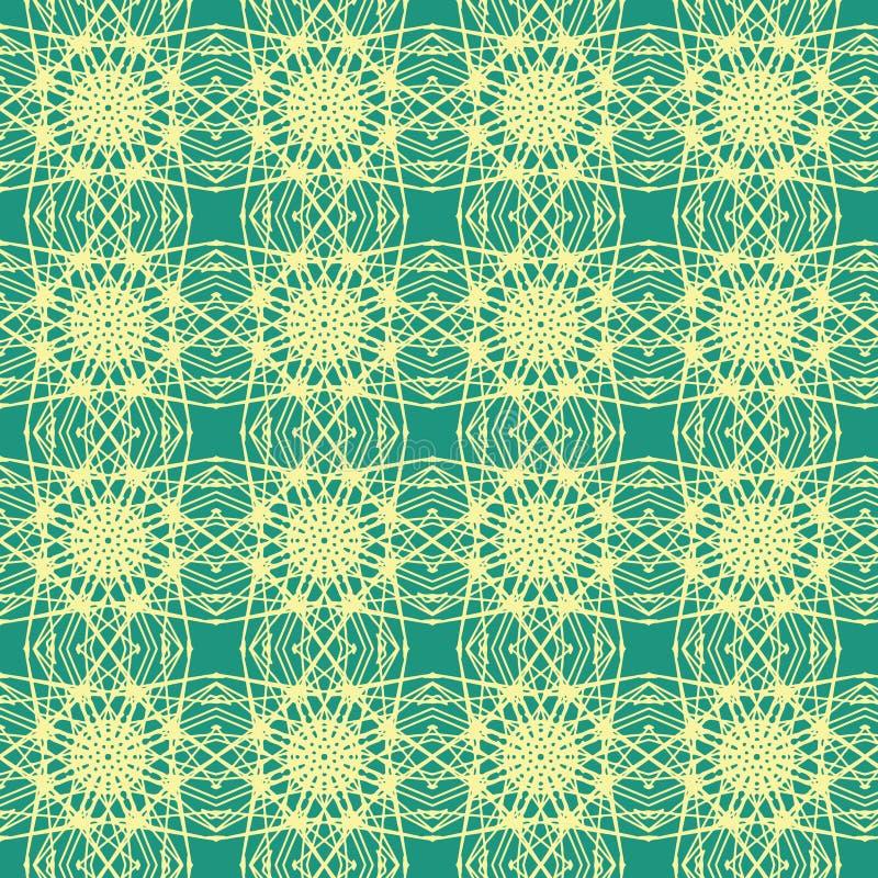 Kaleidoscopic wrapping paper seamless pattern royalty free stock image