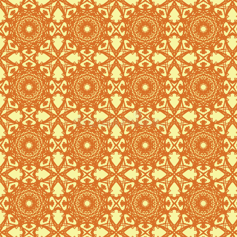Kaleidoscopic wrapping paper seamless pattern royalty free stock photo