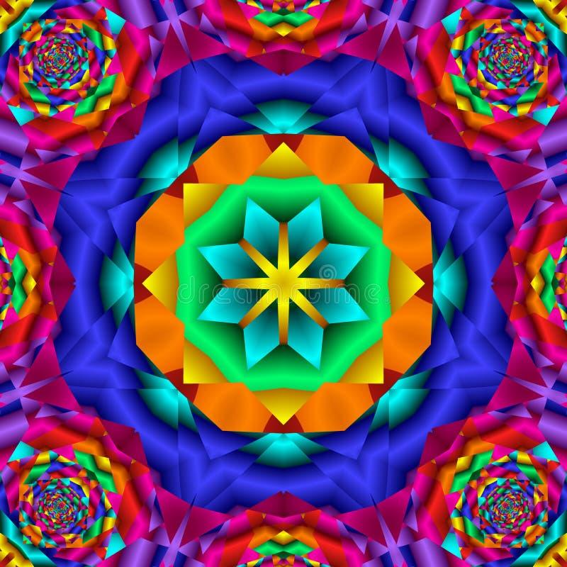 Kaleidoskop vektor abbildung