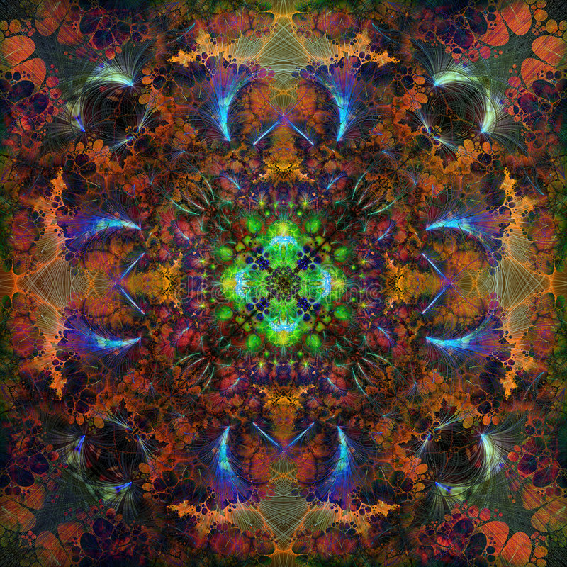 Kaleidoskop lizenzfreie abbildung