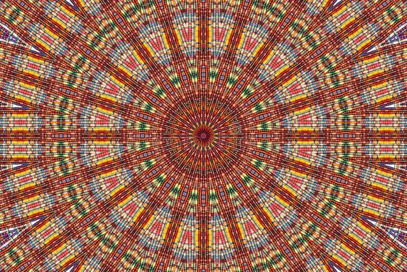 Kaleidoskop der Farbe stockfoto