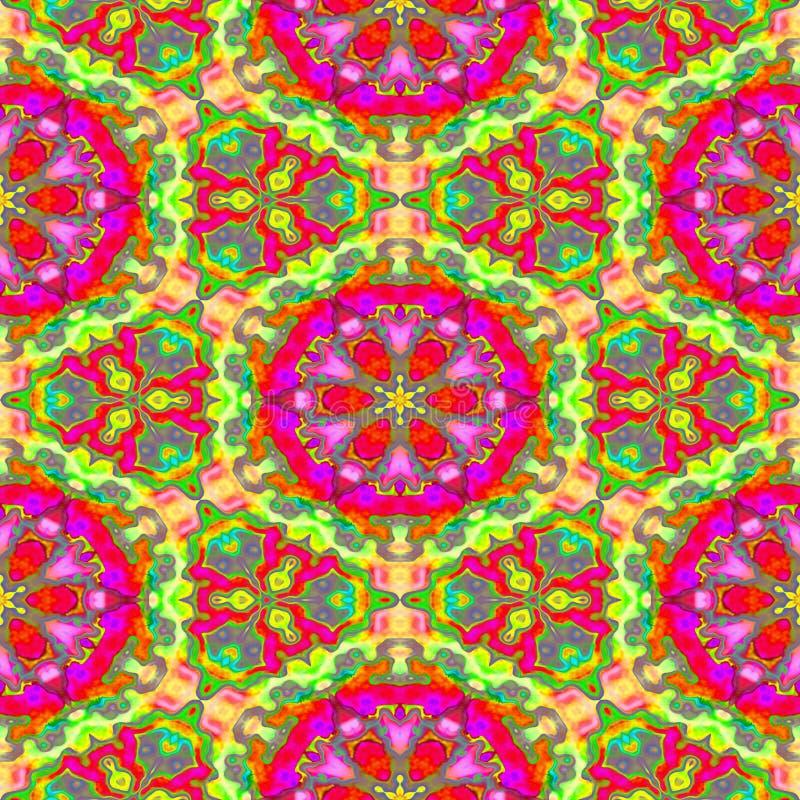 Kaleidoskop der nahtlosen Beschaffenheit lizenzfreie abbildung