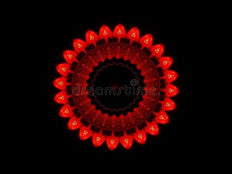 Kaleidoskop eines Steckers stockfoto