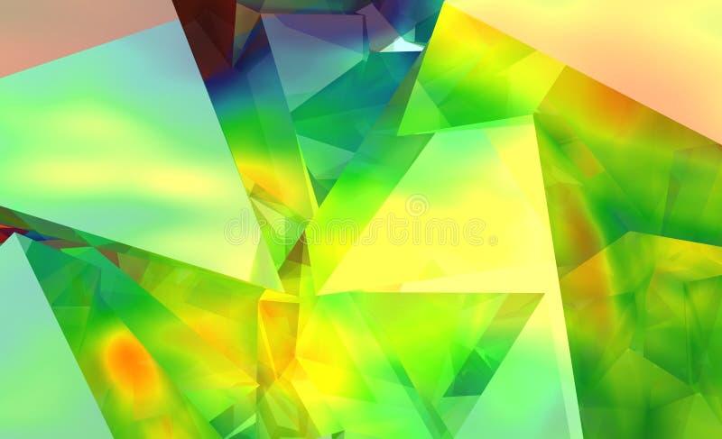 Kaleidoskop II stock abbildung