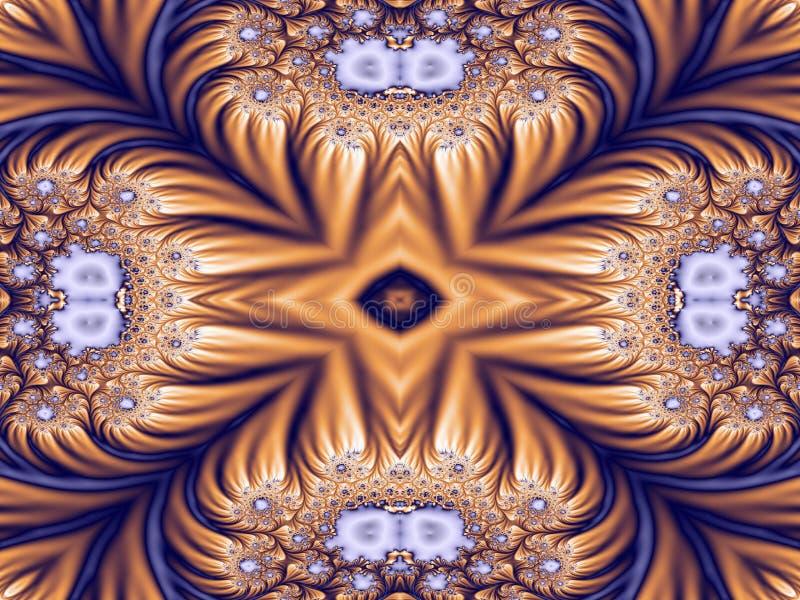 Kaleidoskop verschönerte II lizenzfreie abbildung