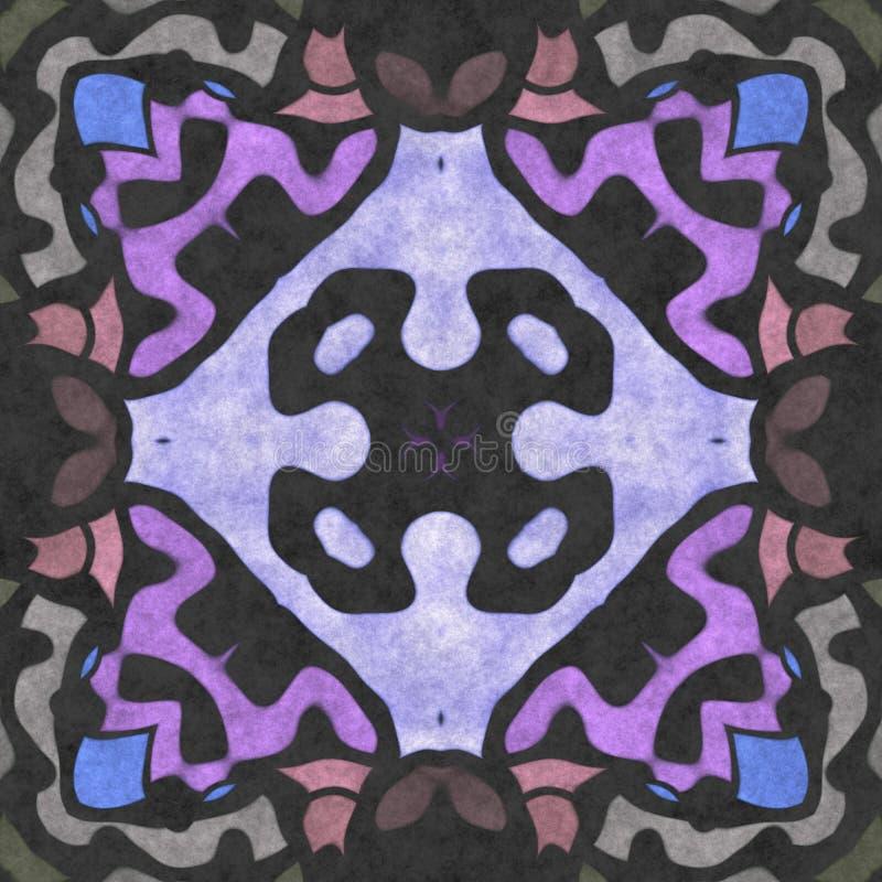 Kalejdoskopowej sztuki geometrii bezszwowy ozdobny obrazy stock