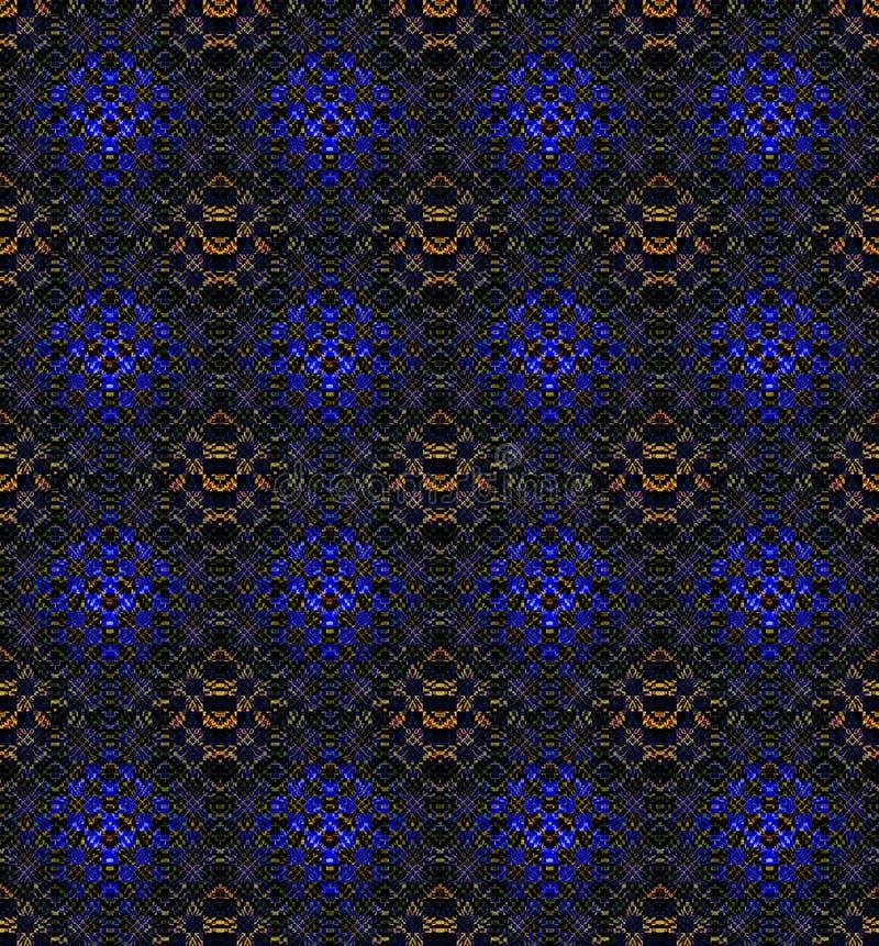 kalejdoskopowy abstrakcjonistyczny tło ilustracja wektor
