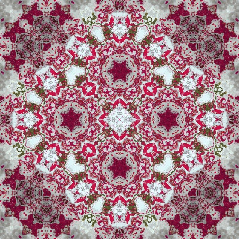 Kalejdoskopowy tapetowy płytka skutka dywan i dywanik obrazy royalty free