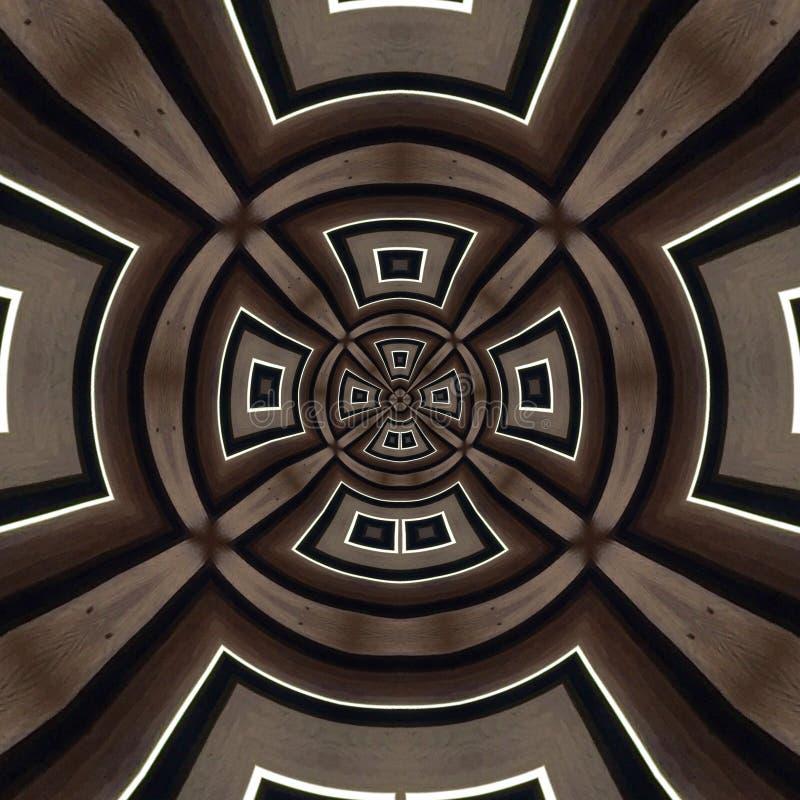 Kalejdoskoptexturbakgrund arkivfoton