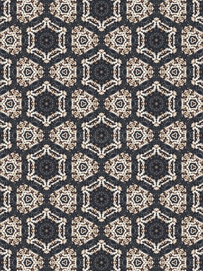 Kalejdoskoptexturbakgrund arkivfoto