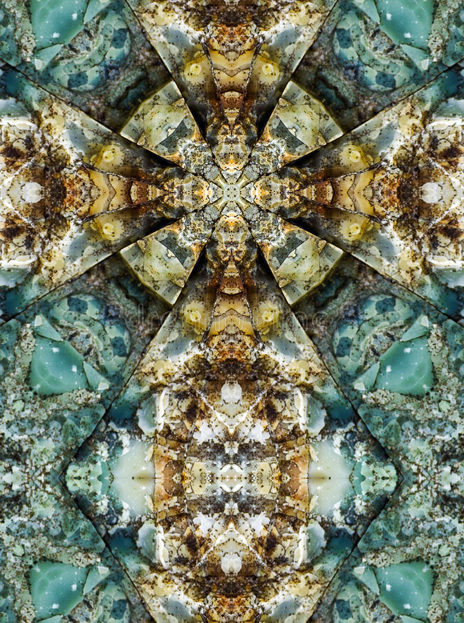 Kalejdoskopu krzyż, chert warstwy obrazy royalty free