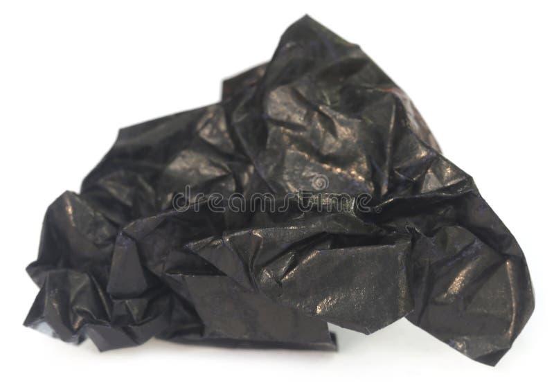 Kaleki węgla papier obraz stock