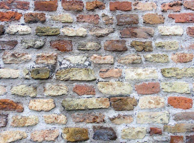 Kalemegdan堡垒墙壁石制品 免版税库存照片