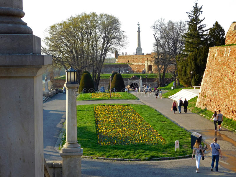 Kalemegdan photo stock