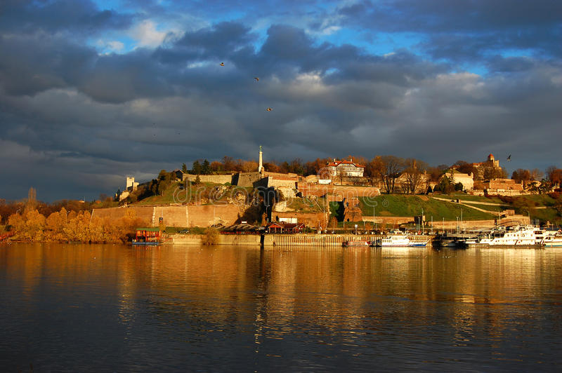 Kalemegdan, Belgrade royalty free stock photo