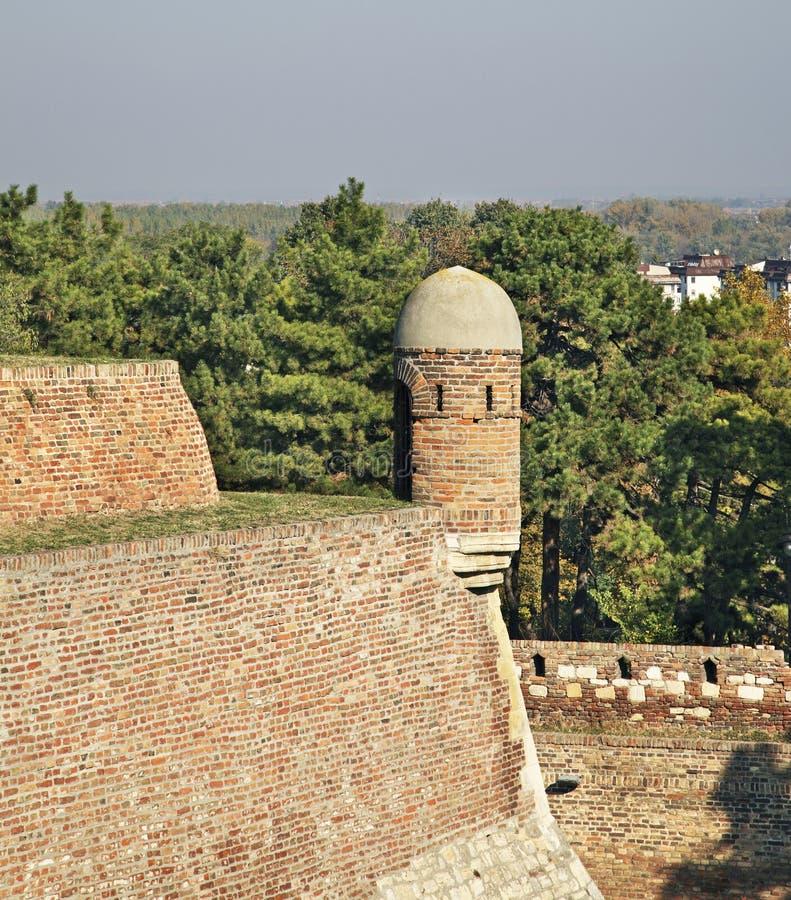 kalemegdan belgrade fästning serbia arkivbild