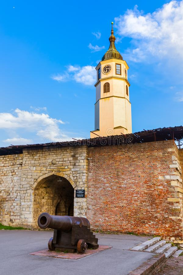 Kalemegdan fästning Beograd - Serbien royaltyfria bilder