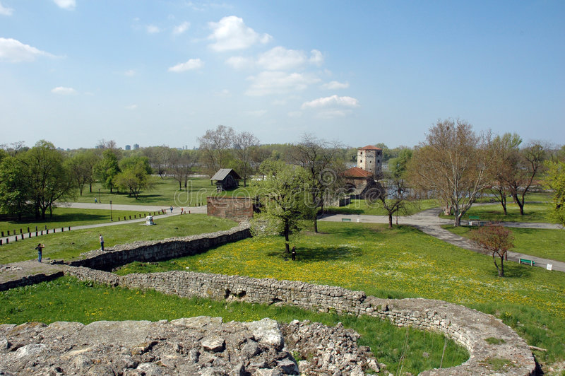 Kalemegdan, Festung In Belgrad, Serbien Stockfoto