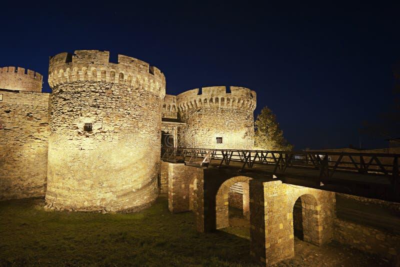 Kalemegdan forteca w Belgrade Serbia obrazy stock