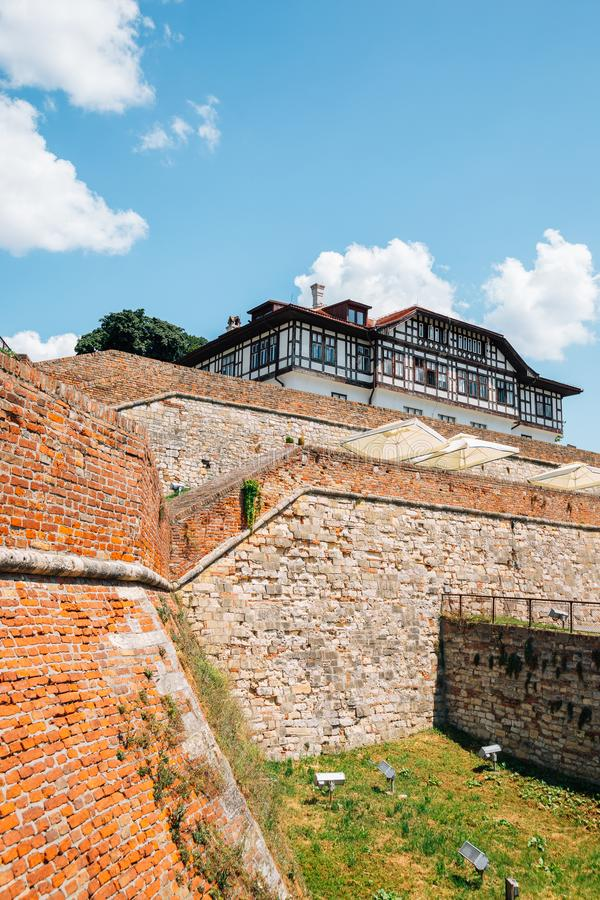 Kalemegdan Fortress in Belgrade, Serbia. Europe royalty free stock photos