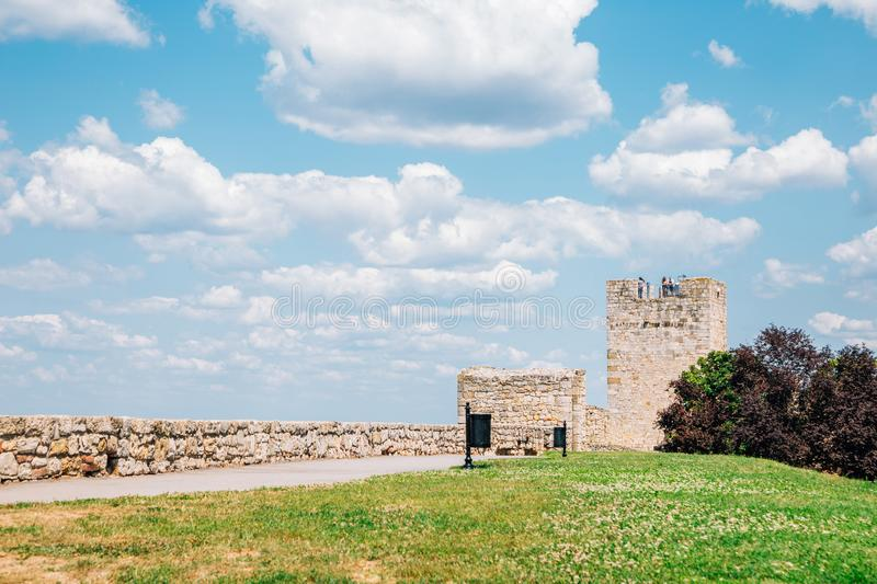 Kalemegdan Fortress in Belgrade, Serbia. Europe stock photography