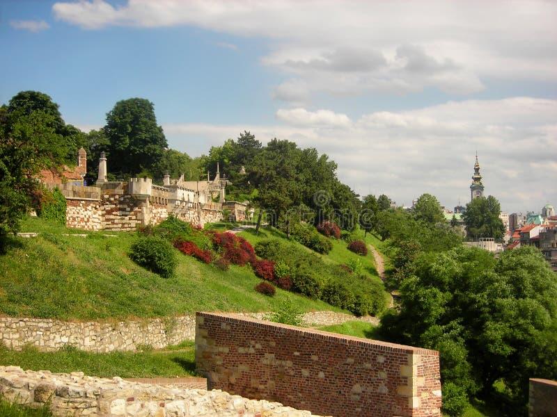 Kalemegdan fortress stock photos